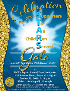 SH Celebrating Our Stars Gala flyer